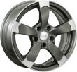 Литые диски DBV TORINO II R15 6.5J ET:35 PCD4x100 GF