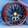 Литые диски Aleks 6930 R18 8.0J ET:40 PCD5x114,3 Red/Black