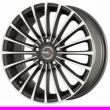 Литые диски MAK Corsa R17 8.0J ET:40 PCD5x114.3 ice black