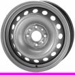Стальные диски AS-41540 R15 6.0J ET:39 PCD4x100 Silver