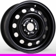 Стальные диски Opel R15 6.0J ET:49 PCD4x100 Black