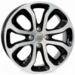 Литые диски WSP Italy NIMES W3403 R16 6.0J ET:23 PCD4x108 GLOSSY BLACK POLISHED