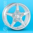 Литые диски JT 1236 R15 6.0J ET:38 PCD4x100 Sil