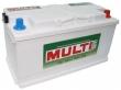 Аккумулятор MULTI Tec Mega Calcium  100 а/ч (6СТ-100 Аз MULTI)
