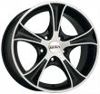 Литые диски DISLA Luxury R15 6.5J ET:35 PCD5x98 BD