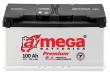Аккумулятор A-Mega Premium 100 А.ч. E 950A